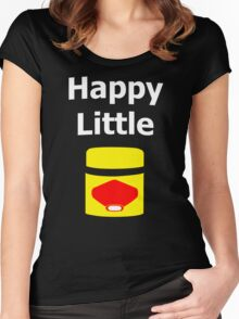 Happy Little Vegemite Women's Fitted Scoop T-Shirt