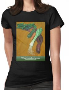 Early Summer Vegetables Womens Fitted T-Shirt