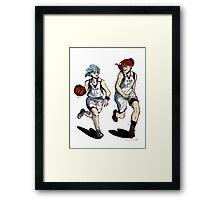 Basketball Girlfriends Framed Print