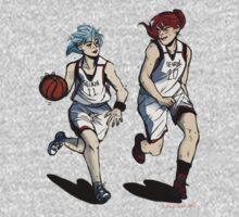 Basketball Girlfriends by lovelynobody