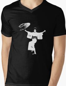 Lady Snowblood Mens V-Neck T-Shirt