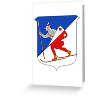 Lillehammer Coat of Arms  Greeting Card