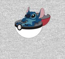 Stitch Pokeball Kids Clothes
