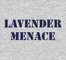 Lavender Menace by Hawthorn Mineart