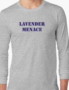 Lavender Menace Long Sleeve T-Shirt