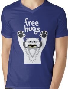 Monster Hugs Mens V-Neck T-Shirt