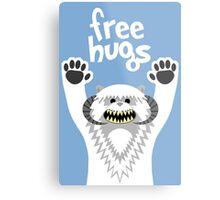Monster Hugs Metal Print
