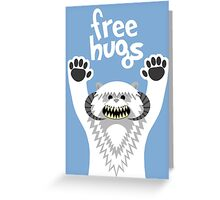 Monster Hugs Greeting Card