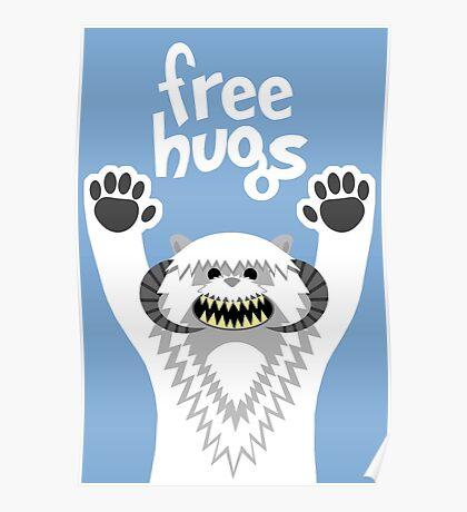 Monster Hugs Poster