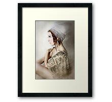 Socialite Mod Framed Print