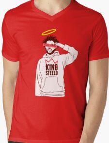 king steelo capital steez Mens V-Neck T-Shirt