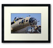 Bomber at show Framed Print