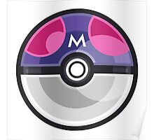 Pokemon Master Ball Poster