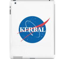 Kerbal Space Program NASA logo (small) iPad Case/Skin