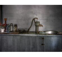 Rustic Kitchen  Photographic Print