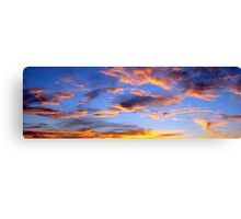 Sky Panorama Canvas Print