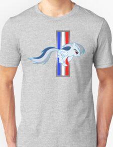 Rainbow Dash Tri-Bar (Original Color Right) Unisex T-Shirt