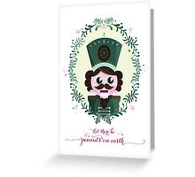 Peanuts On Earth - Holiday Card Greeting Card