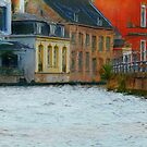 canals. Brugge by Nikolay Semyonov
