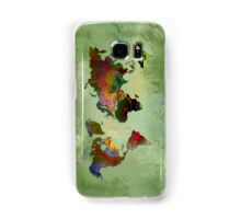 Green Planet Samsung Galaxy Case/Skin