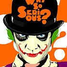 A Clockwork Joker - Serious Droog by butcherbilly