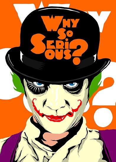 A Clockwork Joker - Serious Droog by butcherbilly