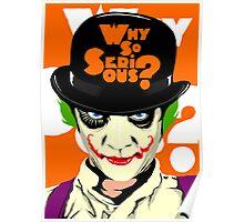 A Clockwork Joker - Serious Droog Poster