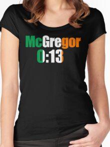 McGregor 0:13 Women's Fitted Scoop T-Shirt
