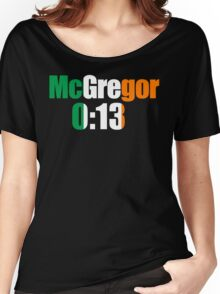 McGregor 0:13 Women's Relaxed Fit T-Shirt