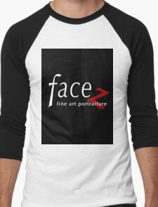 FACEZ Fine Art Portraiture Men's Baseball ¾ T-Shirt