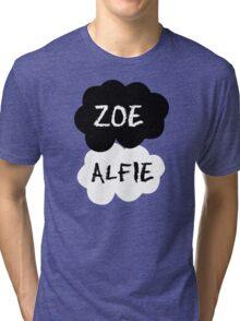 ZOE & ALFIE (Zoella & PointlessBlog) - TFIOS Design Tri-blend T-Shirt