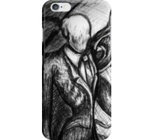 Slender Man iPhone Case/Skin