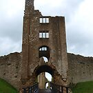 Sherborne Old Castle Gateway by kalaryder