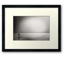 """""""Mediterranean sunset"""" Framed Print"""