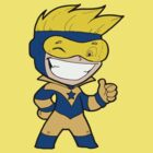 Booster Gold Chibi by dws414