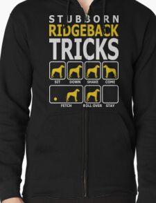Stubborn Ridgeback Tricks T-Shirt T-Shirt
