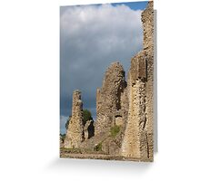 Sherborne Old Castle Side View Greeting Card