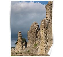 Sherborne Old Castle Side View Poster