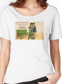 Cute Victorian romantic couple in love Women's Relaxed Fit T-Shirt