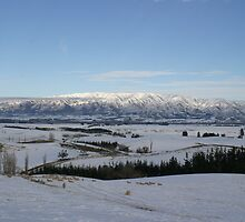 Canterbury Plains South Island New Zealand by roarmstrong