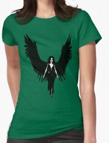 Dark Angel - Black Womens Fitted T-Shirt