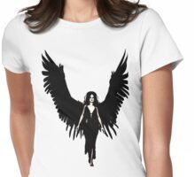 Dark Angel - Black Womens Fitted T-Shirt