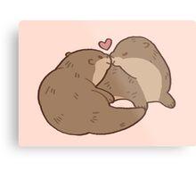 ottery kisses Metal Print