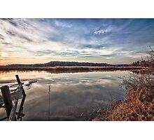 Sunet over the Nanjemoy River Photographic Print