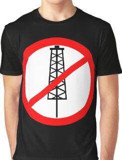 Anti-Fracking Symbol Graphic T-Shirt