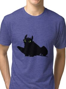 toothless (larger). Tri-blend T-Shirt