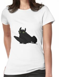 toothless (larger). Womens Fitted T-Shirt