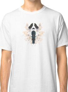 Scream Horror Movie Inkblot Classic T-Shirt
