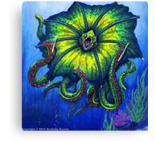 Raging Kuma Beast Canvas Print