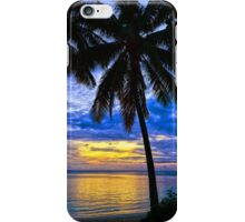 Sunset On The Phone iPhone Case/Skin